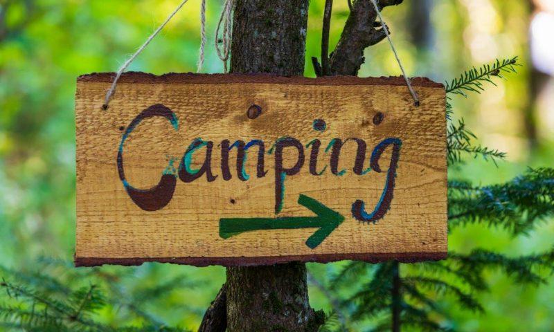 Camping nad morzem